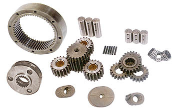 Planetary group device spares gear box sprocket Pins Springs