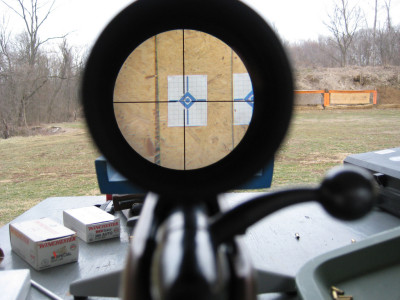 View Through My Target Scope