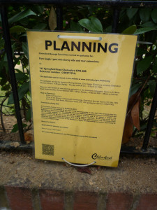 old - planning notice