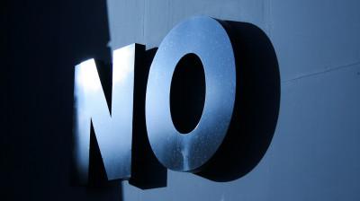 It's a No!