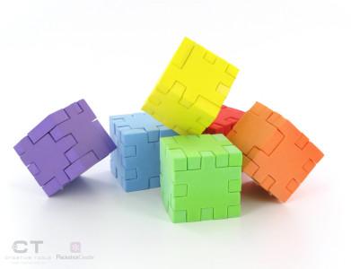 CreativeTools.se - PackshotCreator - Puzzle cubes